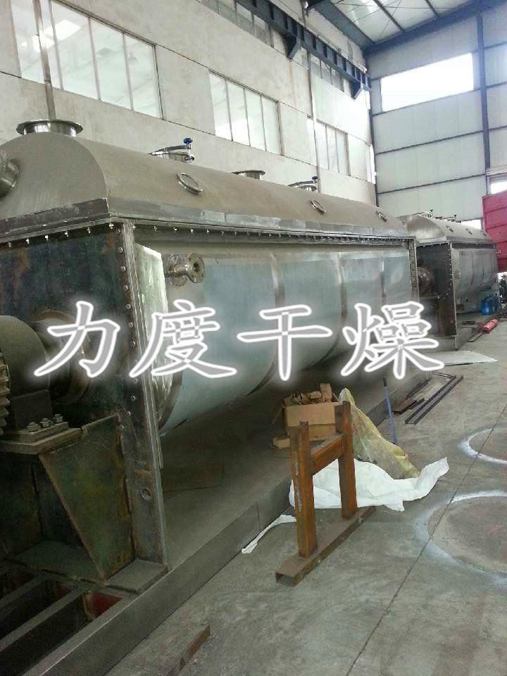污泥专用空心桨叶干燥机